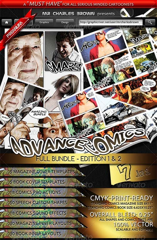 GraphicRiver Advance Comics Publication Kit - Full Bundle
