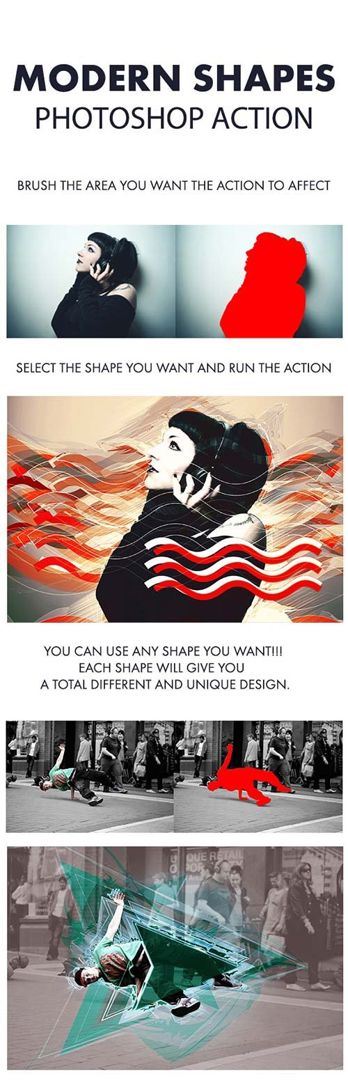 GraphicRiver Modern Shapes Action