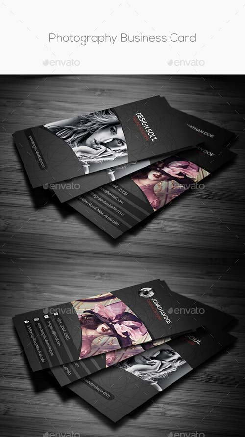 GraphicRiver Photography Business Card