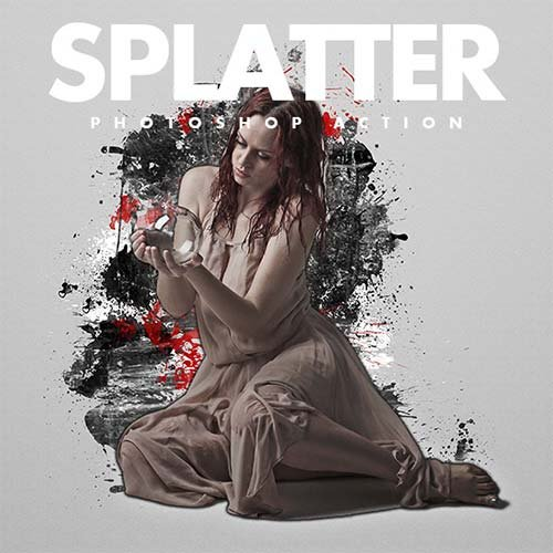 GraphicRiver Splatter Photoshop Actions