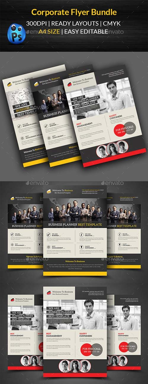 GraphicRiver Corporate Flyer Bundle Templates
