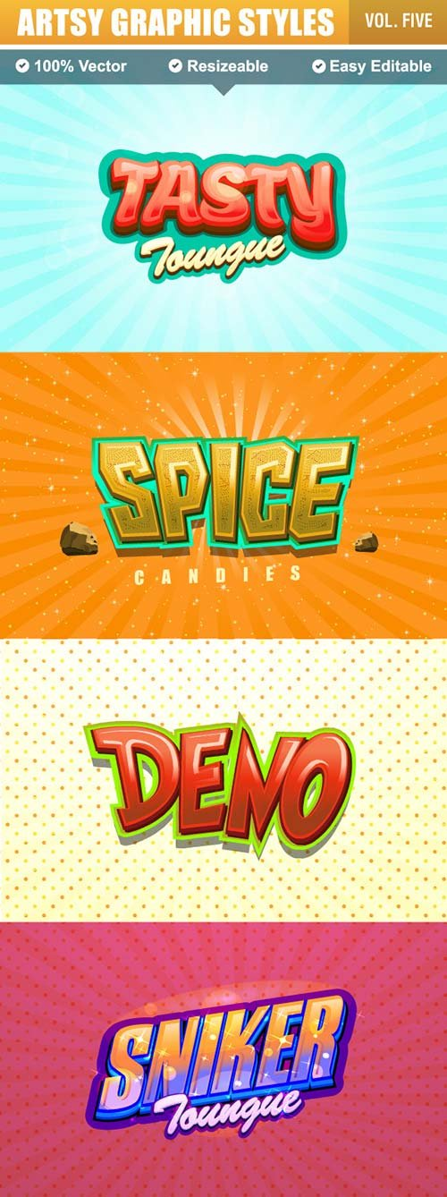 GraphicRiver Game Logo Text Effect