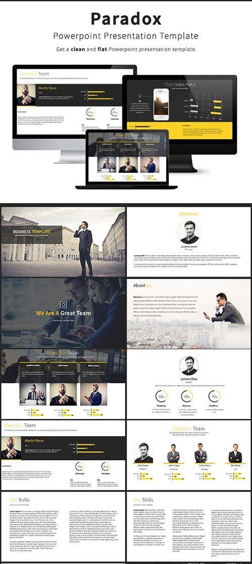 GraphicRiver Paradox - Business Powerpoint Template