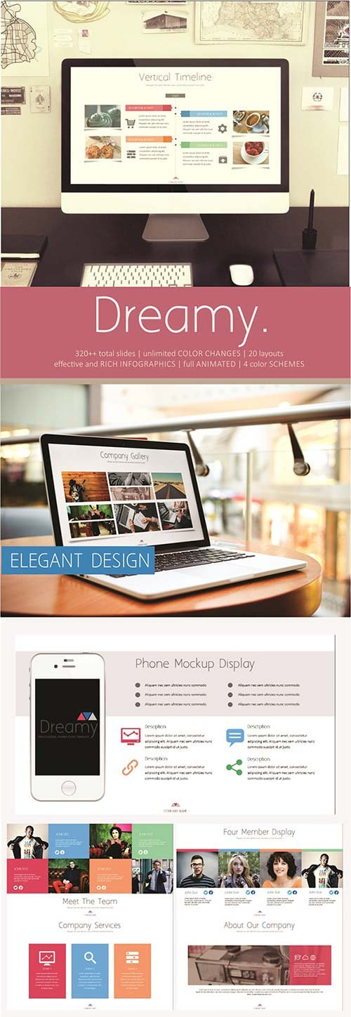 GraphicRiver Dreamy PowerPoint Template