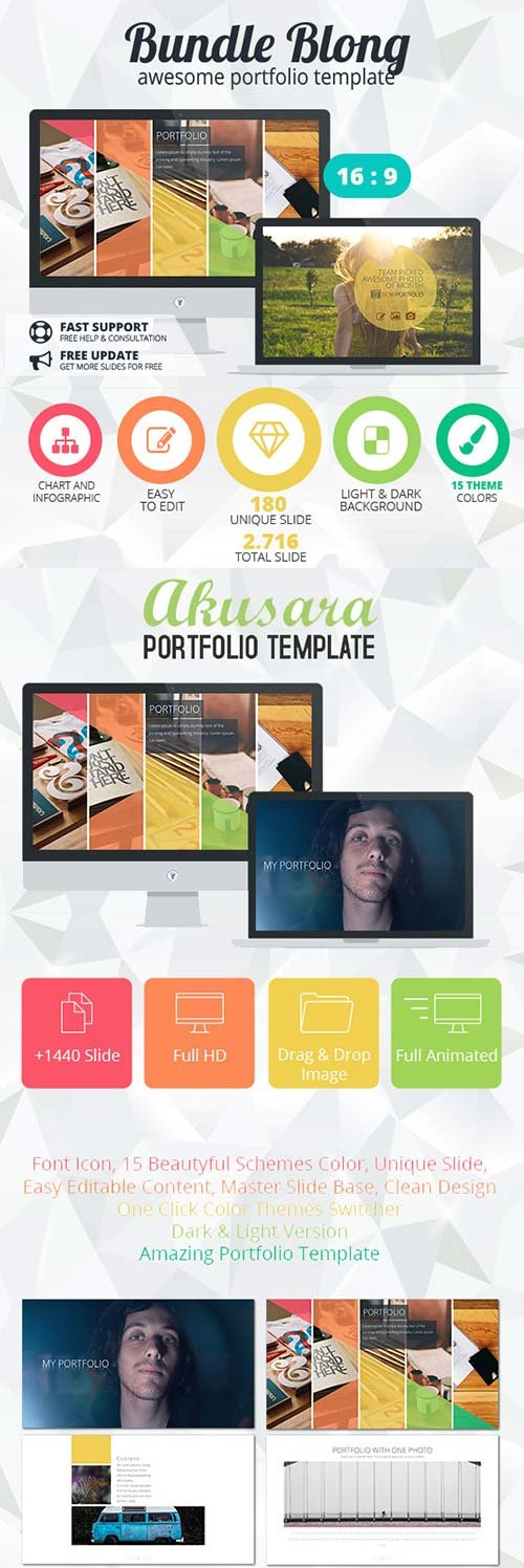 GraphicRiver Bundle Blong - Awesome Portfolio Template