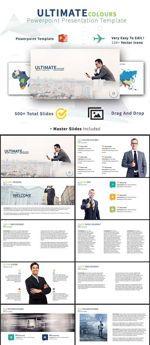 GraphicRiver ULTIMATE Colours Multipurpose Business Powerpoint