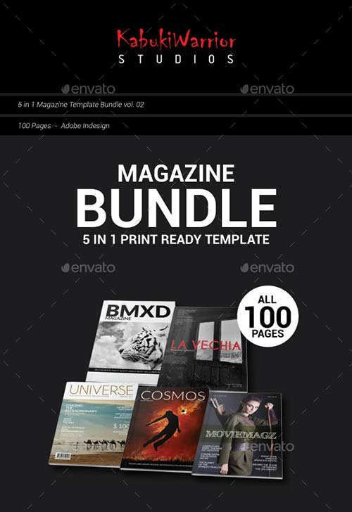 GraphicRiver Magazine Bundle 2