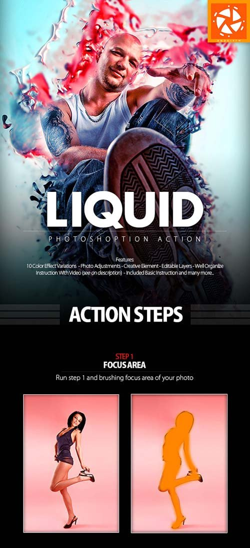 GraphicRiver Liquid Action