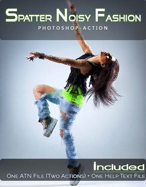 GraphicRiver Spatter Noisy Fashion
