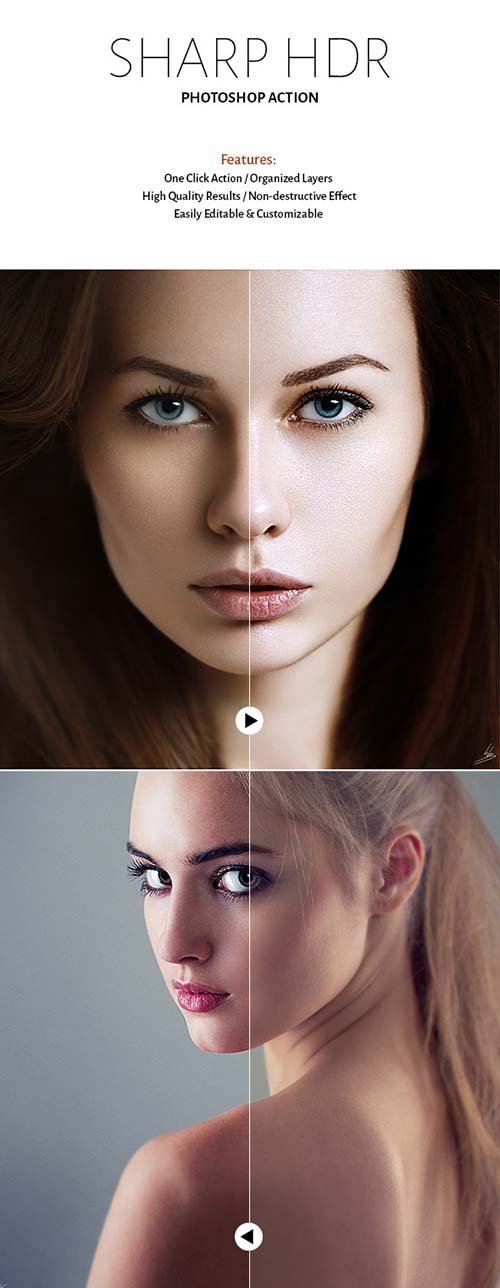 GraphicRiver Sharp HDR Action