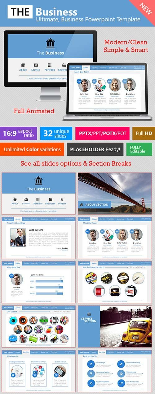 GraphicRiver The Business - Ultimate Business Template