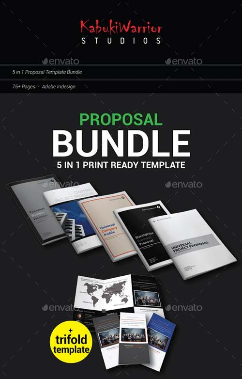 GraphicRiver Proposal Bundle 01