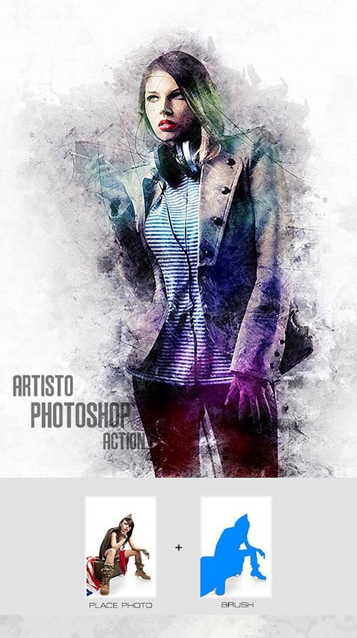 GraphicRiver Artisto - Photoshop Action