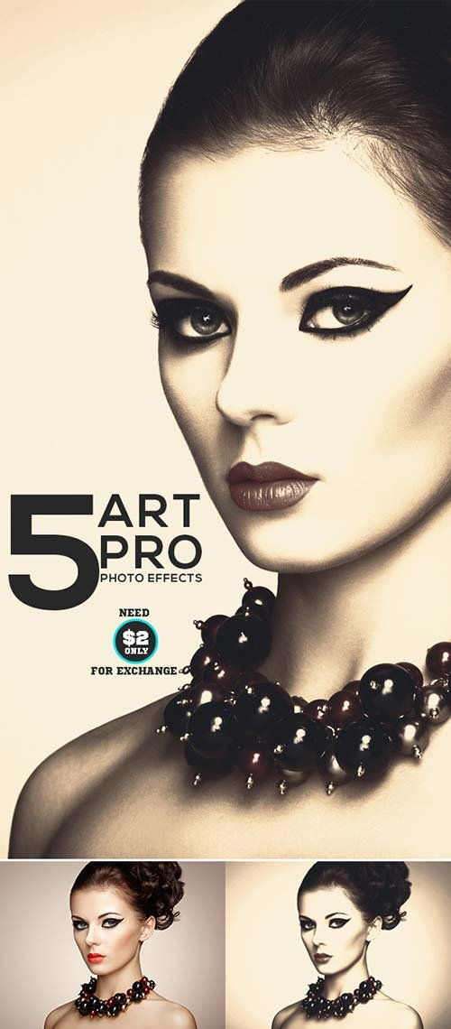 GraphicRiver 5-Art Pro Photo Effects