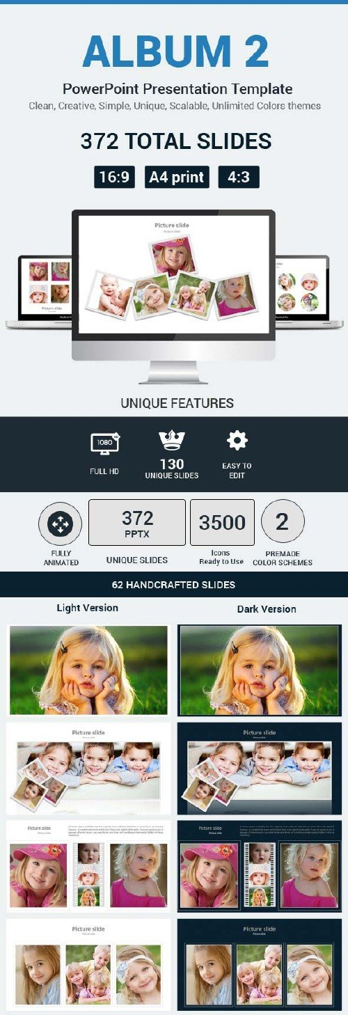 GraphicRiver Album 2 PowerPoint Presentation Template