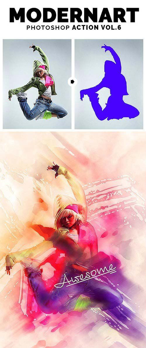 GraphicRiver ModernArt V6 PS Action