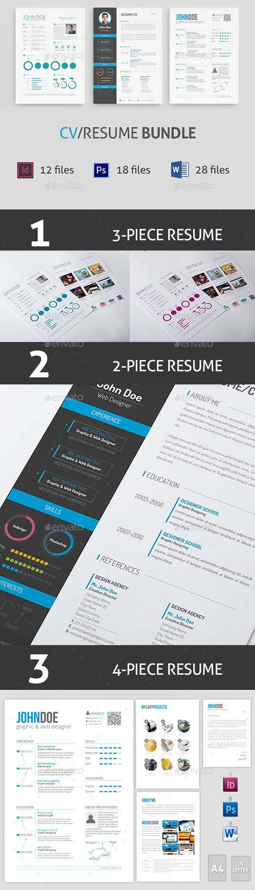 GraphicRiver CV / Resume Bundle