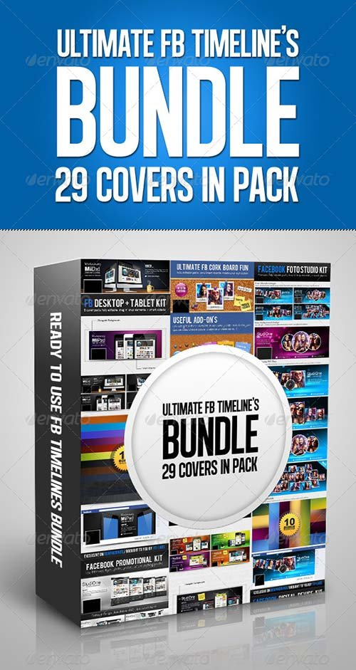 GraphicRiver FB Timelines Bundle V3