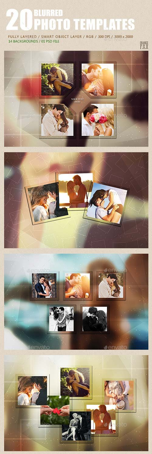 GraphicRiver 20 Blurred Photo Templates