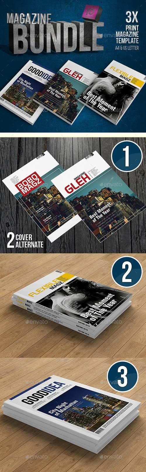 GraphicRiver Indesign Magazine Bundle