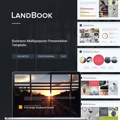GraphicRiver Business Theme - LandBook