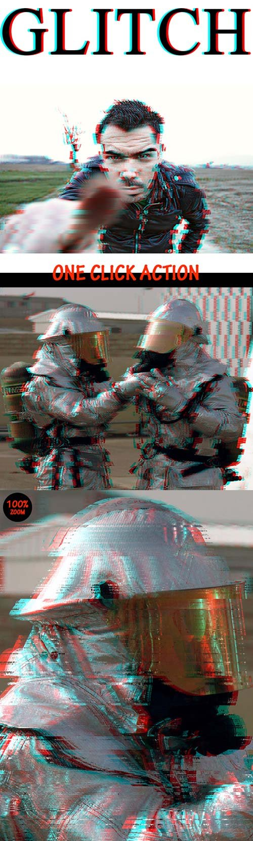 GraphicRiver Glitch Photo Effect
