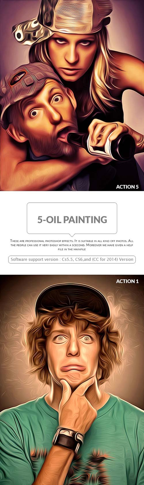 GraphicRiver 5-Oil Painting