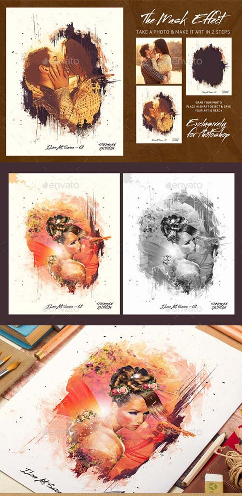 GraphicRiver The Mask Effect - Artistic FX