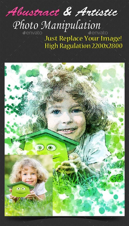 GraphicRiver Abustrict & Artistic Photo Manuplation