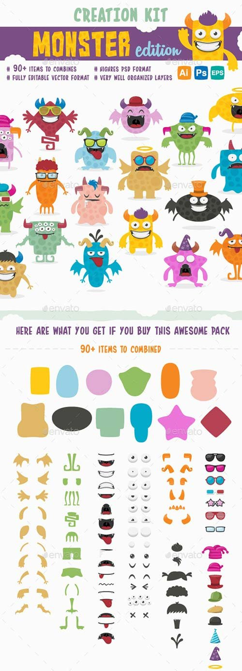 GraphicRiver Creation Kit - Monster Edition