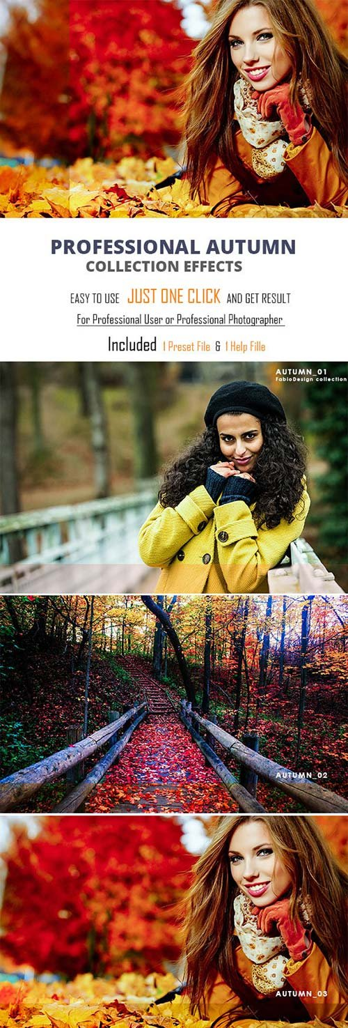 GraphicRiver Professional Autumn Collection Effect