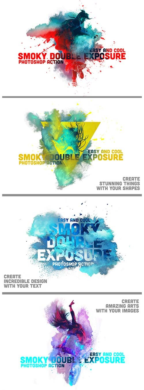 GraphicRiver Smoky Double Exposure