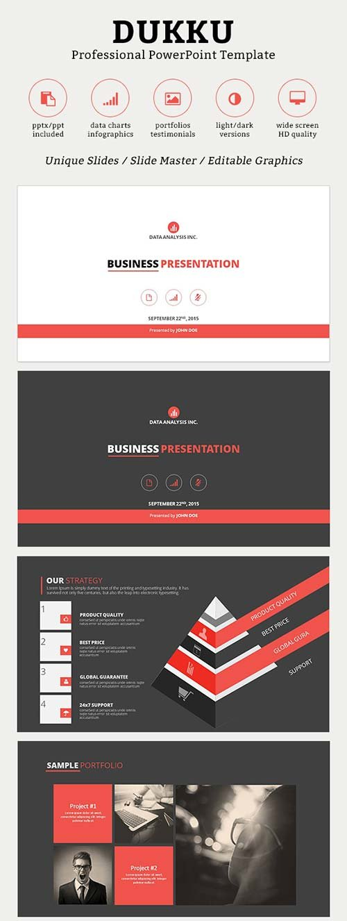 GraphicRiver Dukku PowerPoint Template