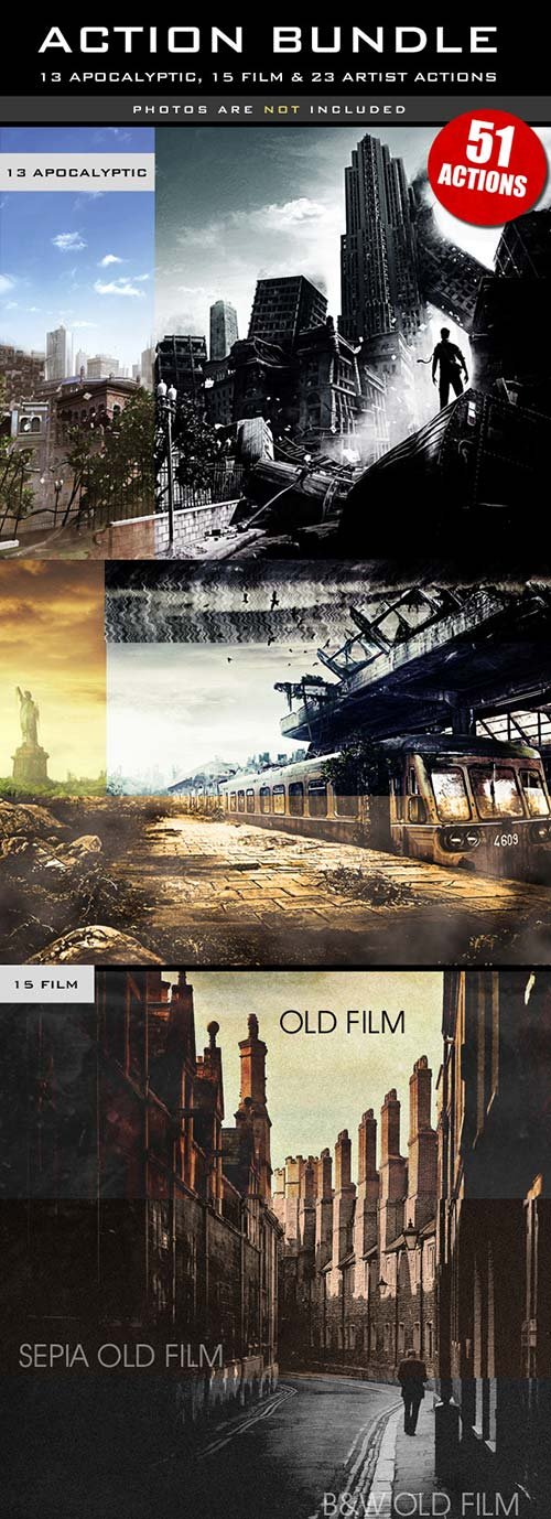 GraphicRiver Action Bundle