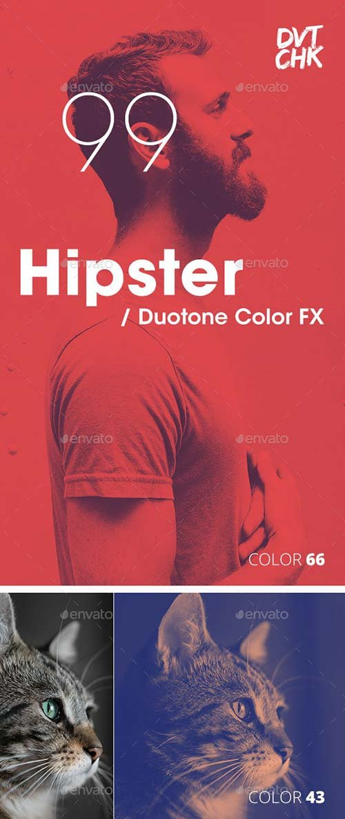 GraphicRiver Hipster - Duotone Color FX