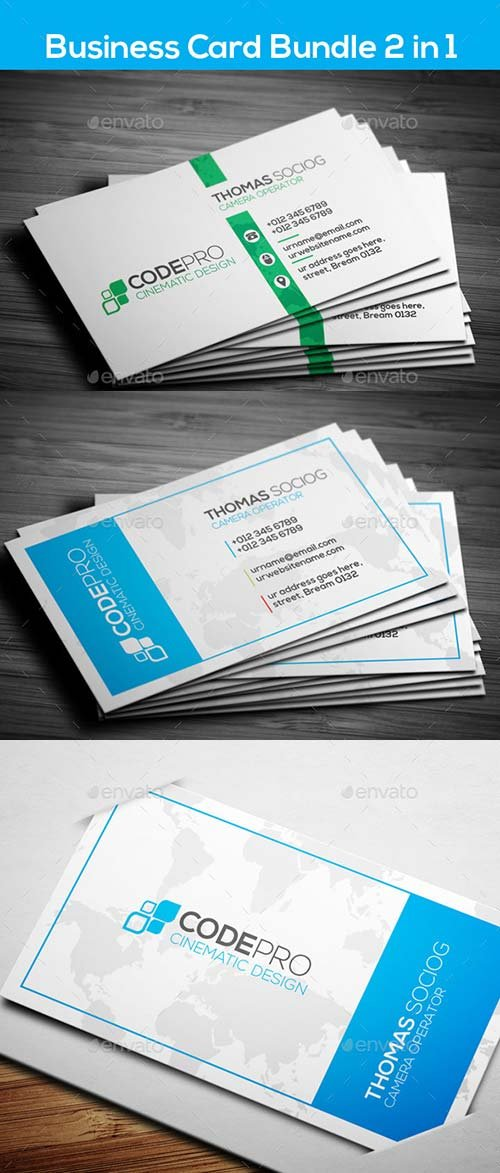 GraphicRiver Corporate Business Card Bundle
