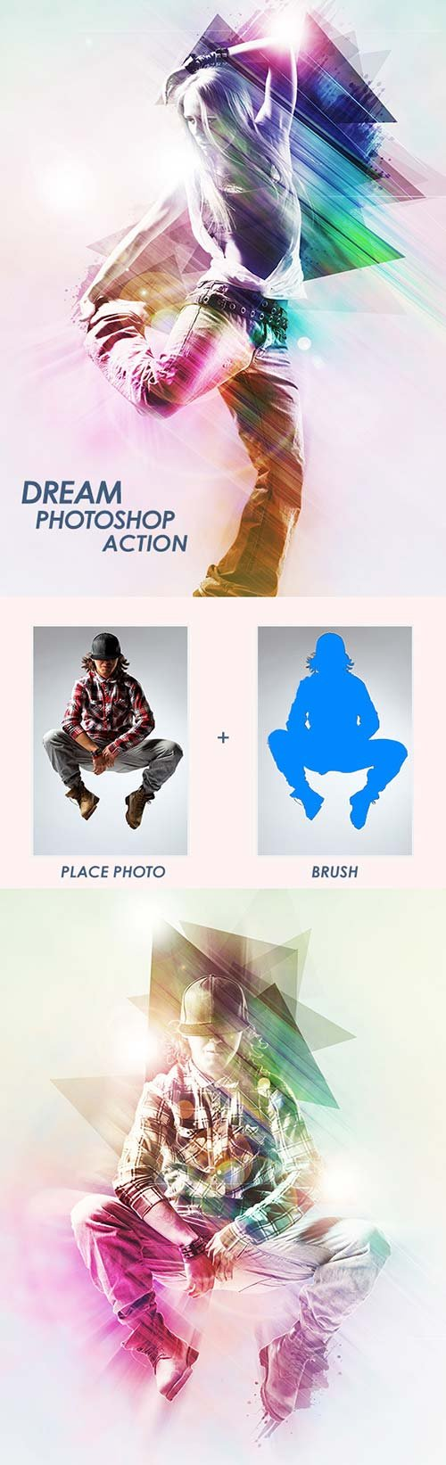 GraphicRiver Dream - Photoshop Action