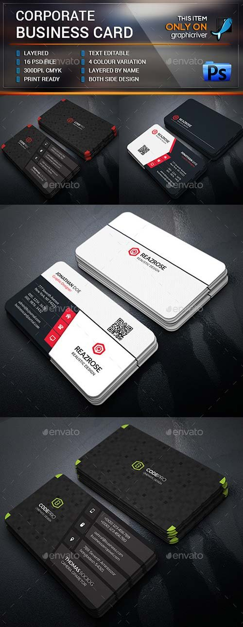 GraphicRiver Business Card Bundle