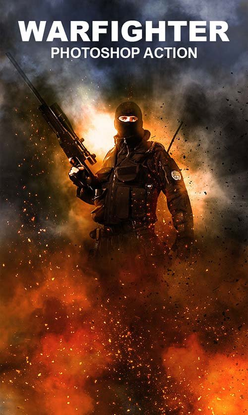 GraphicRiver Warfighter Photoshop Action
