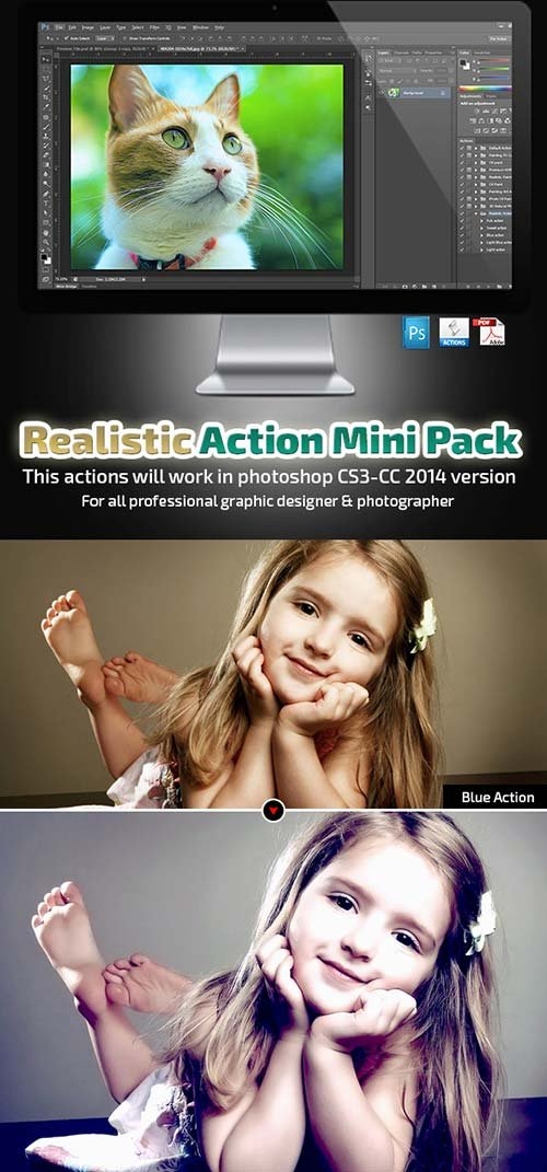 GraphicRiver Realistic Action Mini Pack