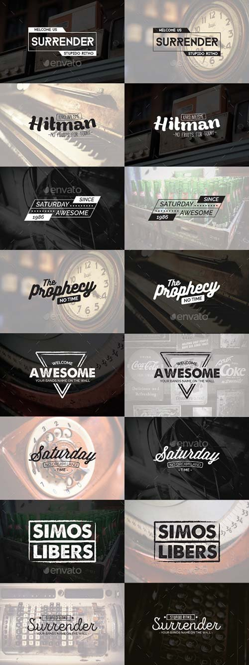 GraphicRiver 10 Badges and Stickers - Vol 2
