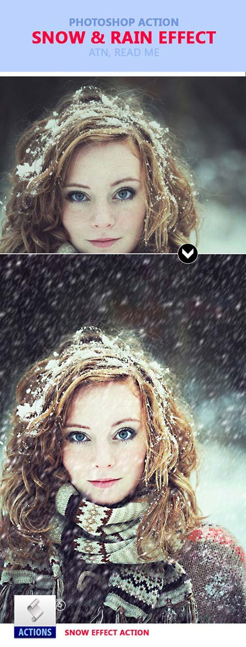 GraphicRiver Snow And Rain Effect
