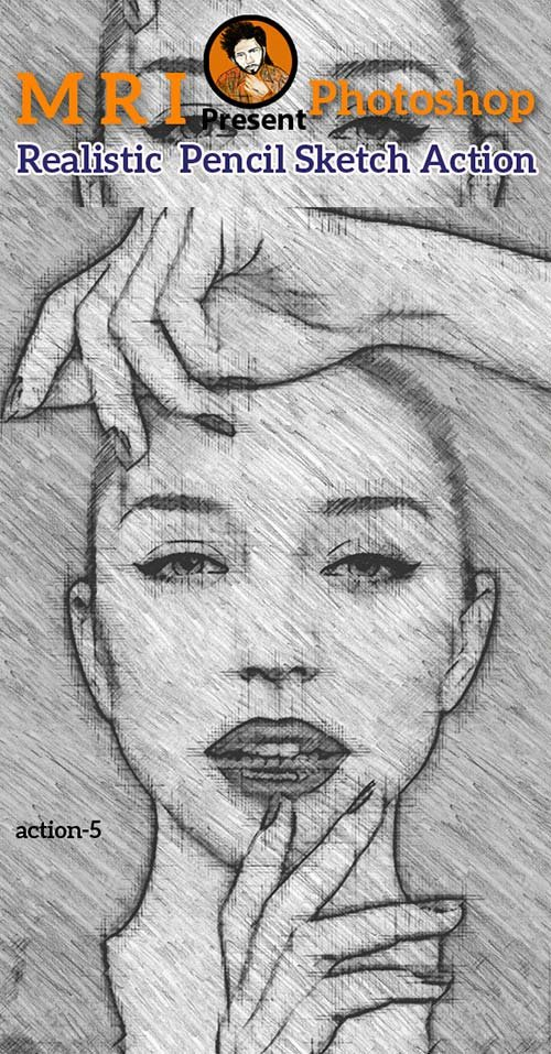 GraphicRiver Realistic Pencil Sketch