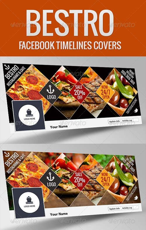 GraphicRiver Bestro Facebook Timeline Cover