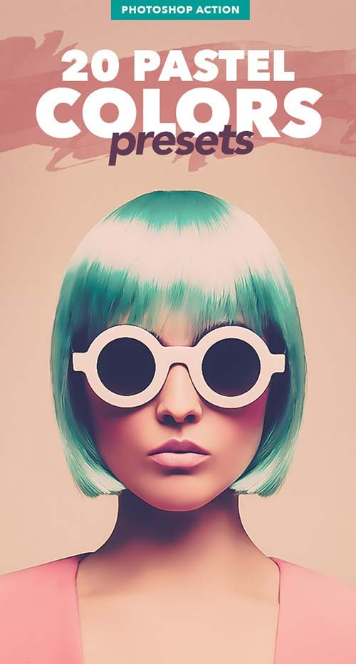 GraphicRiver 20 Pastel Colors Presets - Photoshop Action
