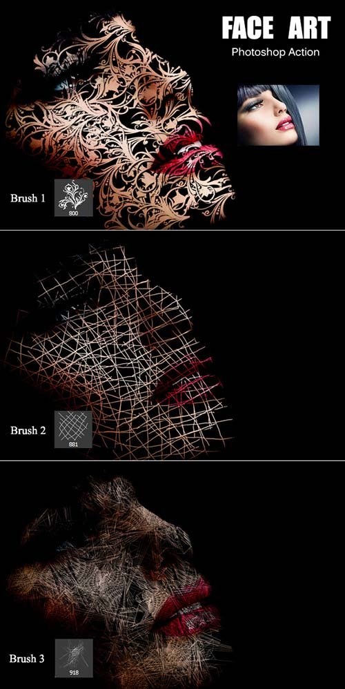 GraphicRiver Face Art