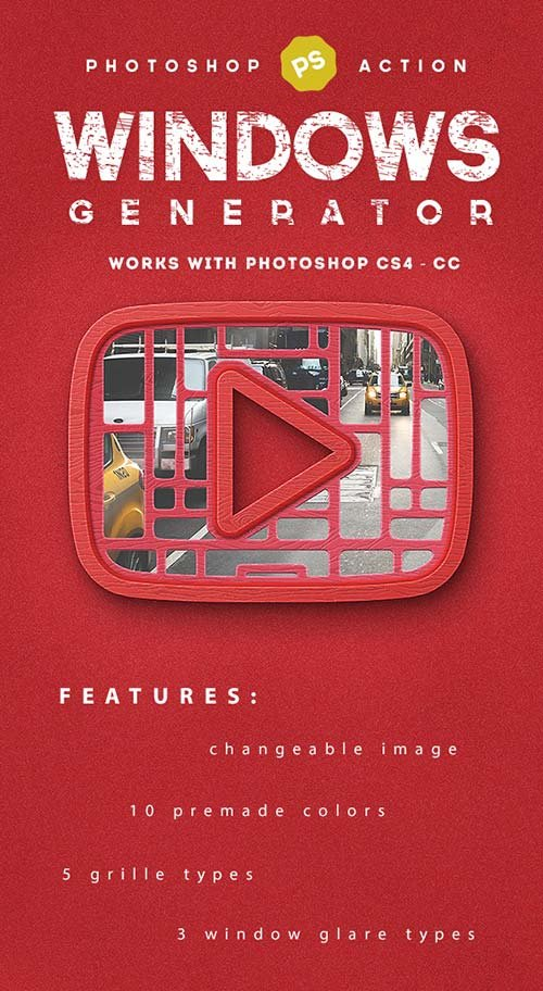 GraphicRiver Window Generator