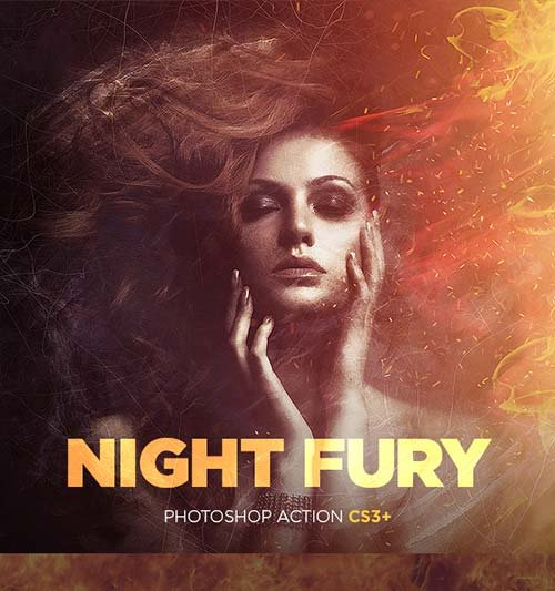 GraphicRiver Night Fury Photoshop Action