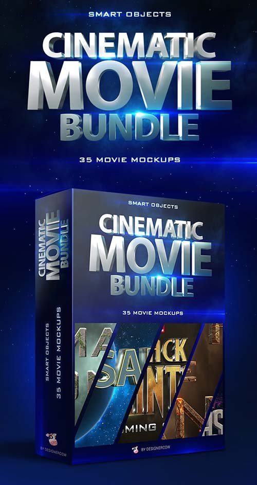 GraphicRiver Cinematic Movie Mockups Bundle