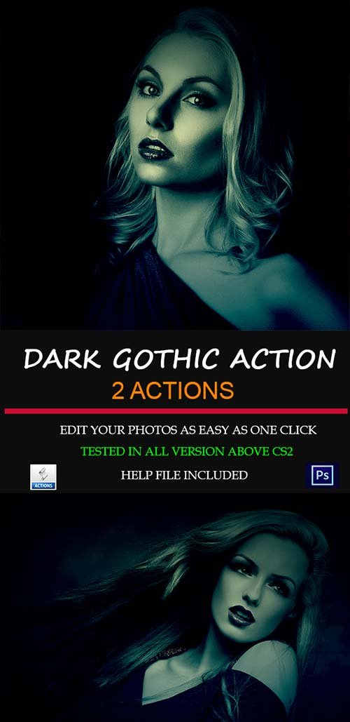 GraphicRiver Dark Gothic Premium Actions